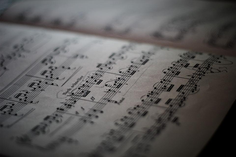 Lyrics, Sheet Music, Note, Music, Instrument, Pianist