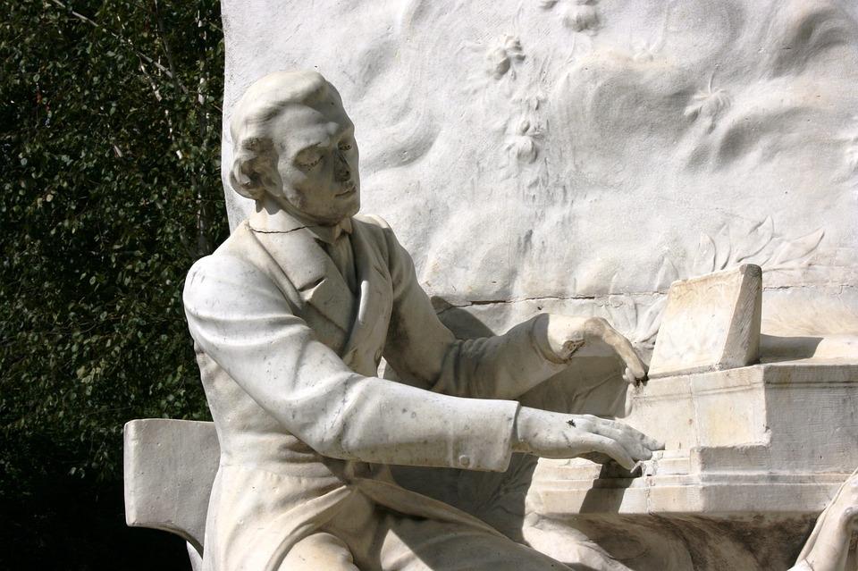 Chopin, Monument, Piano, Music, Parc Monceau, Paris