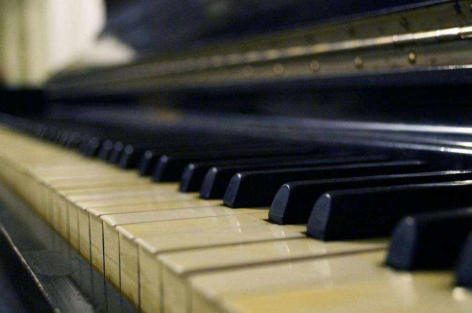 Piano, Music, Black, Keyboard, Musical, Instrument