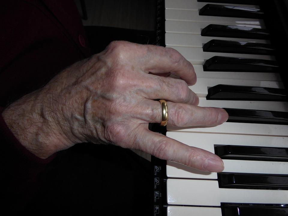 Hand, Piano, Piano Keys, Play, Sound