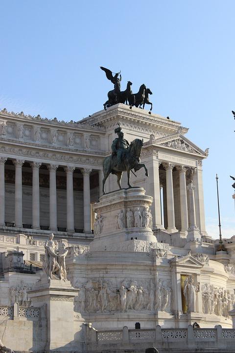 Piazza Venezia, Rome, Monument, Italia