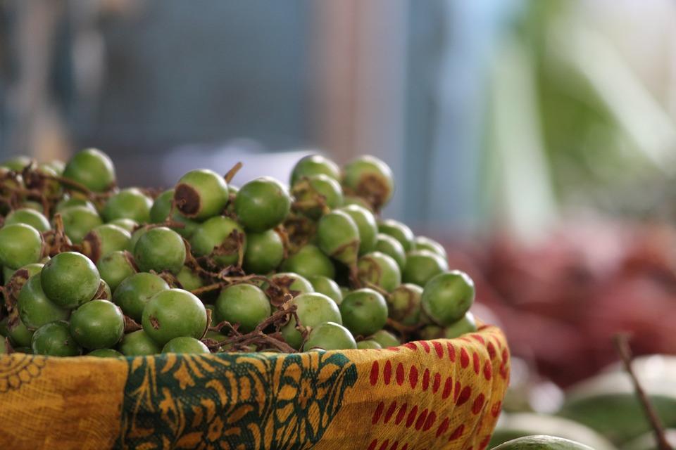 Indian Berry, Vegetables, Market, Green, Pickle