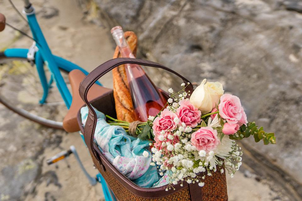 Nature, Summer, Flora, Garden, Flowers, Picnic, Romance