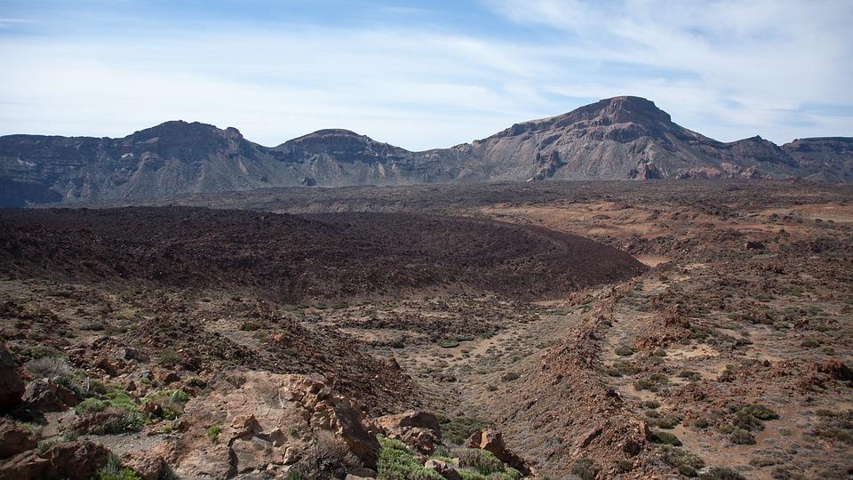 Nature, Volcano, Pico Del Teide, Lava Flow, Cold