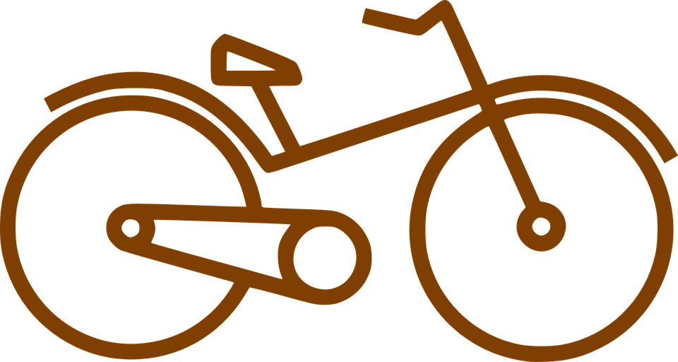 Bike, Bicycle, Pictogram, Long