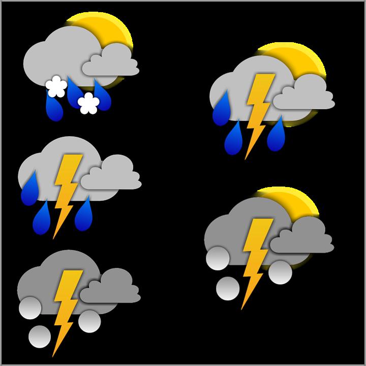 Pictogram, Weather, Storm