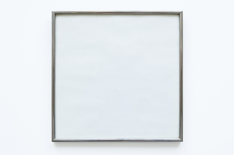 Blank, Empty, Picture Frame, Frame, Picture