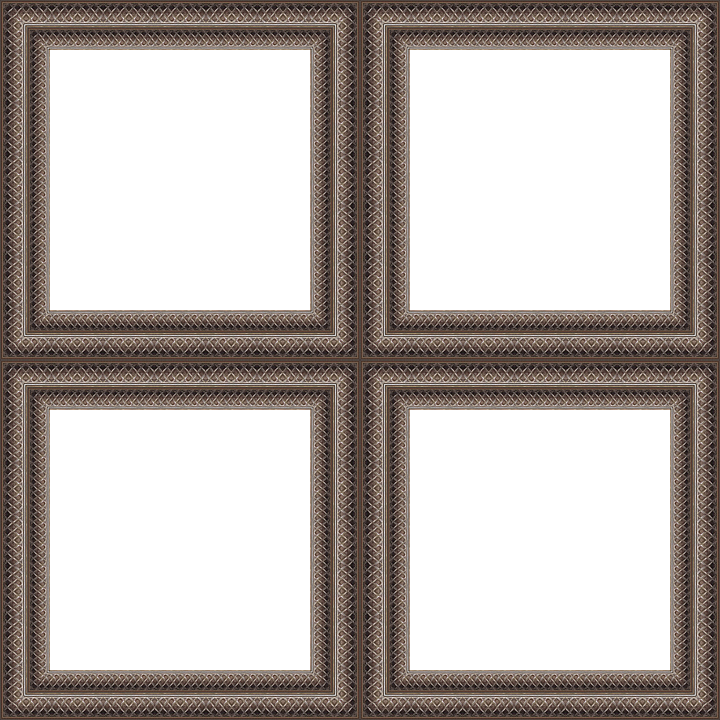 Frame, Square, Border, Window, Picture, Wall, Template