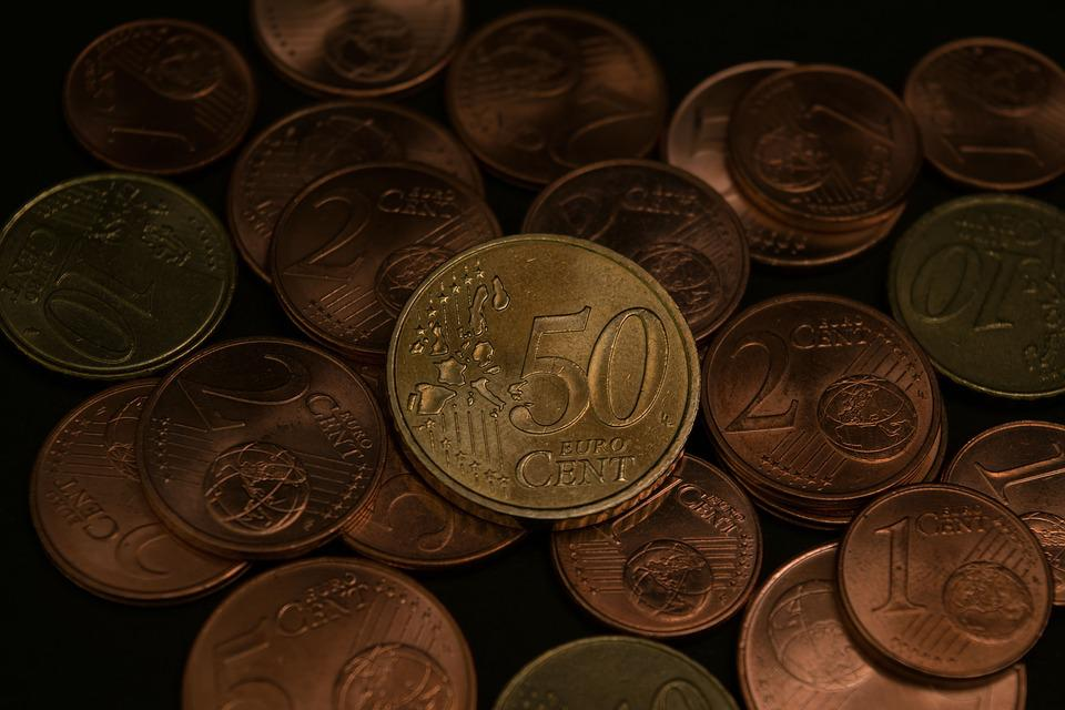 Money Euro Currency Parts Cents Image Picture