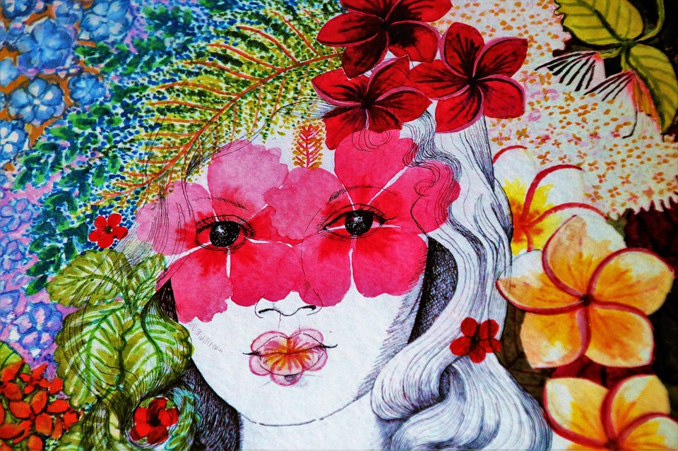 The Art Of, Picture, Flower, Color, Floral, Fancy