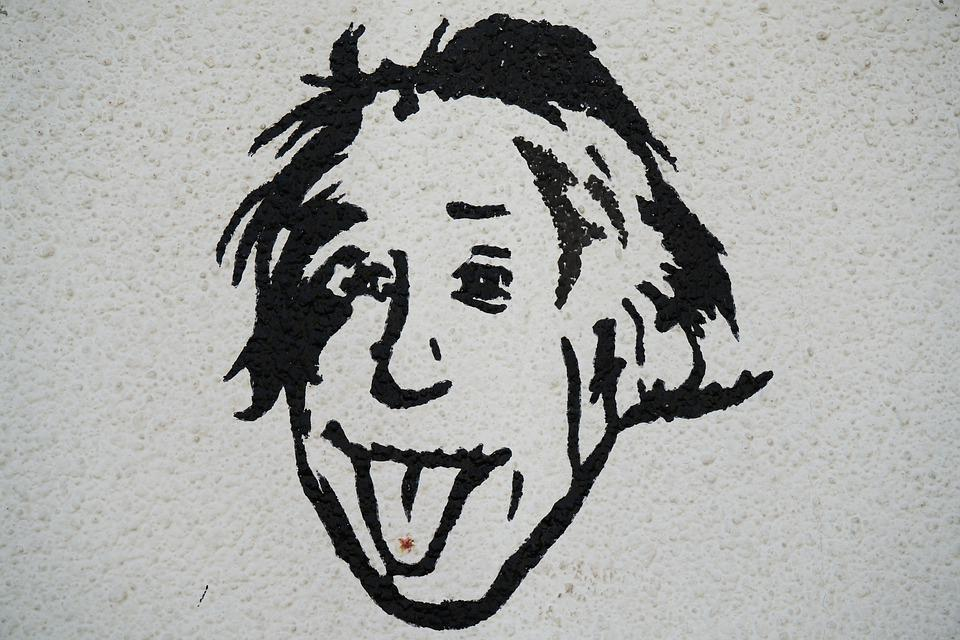 Albert Einstein, Science, Painting, Drawing, Pictures