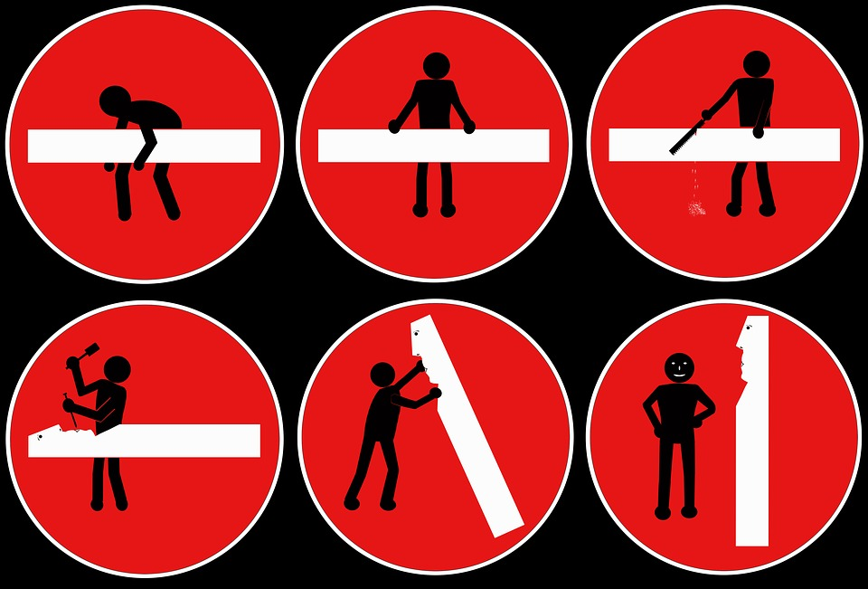 Stick Figure, Pictures History, Road Sign, Traffic Sign
