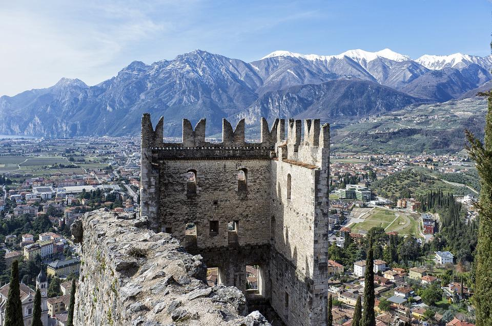 Arc, Castle, Stone, Middle Ages, Picturesque, Italy