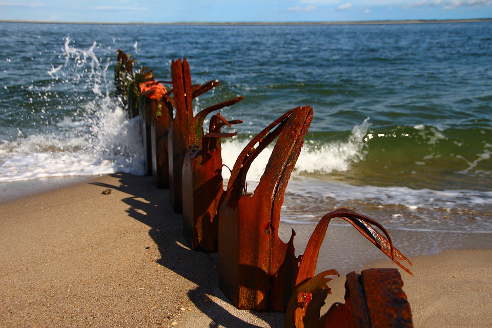 Rust, Pier, Sylt, Ocean, Sea, Beach, Seascape, Sky