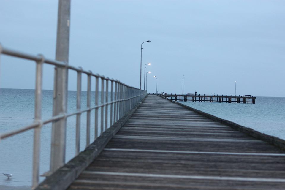 Water, Sky, Bridge, Sea, Pier, Ocean, Harbor, Tourism