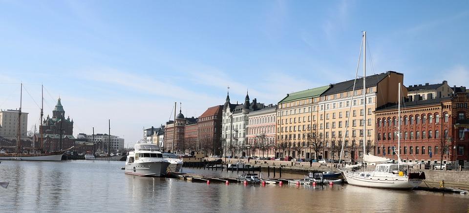 City, Port, Pier, Tourism, Panorama, Sky, Boat