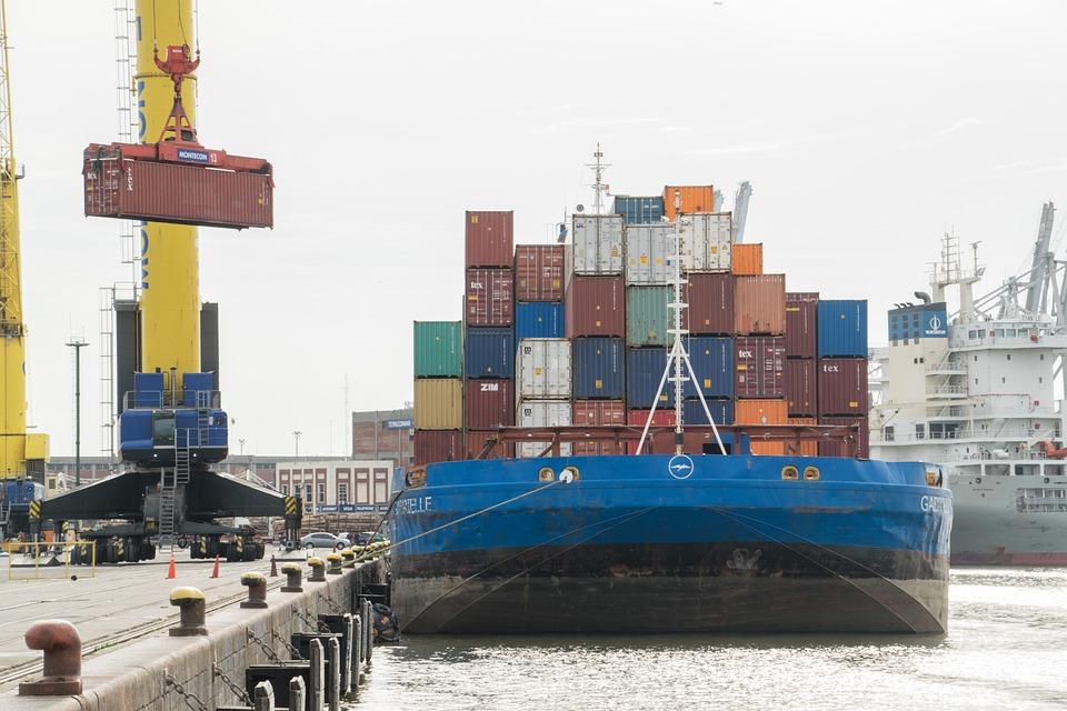 Ship, Dock, Pier, Harbor, Water, Port, Travel, Commerce