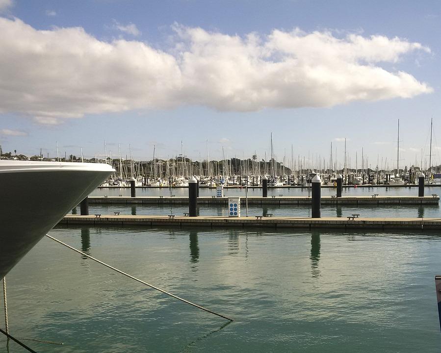 Water, Pier, Harbor, City, Sea, Waterfront, Tourism