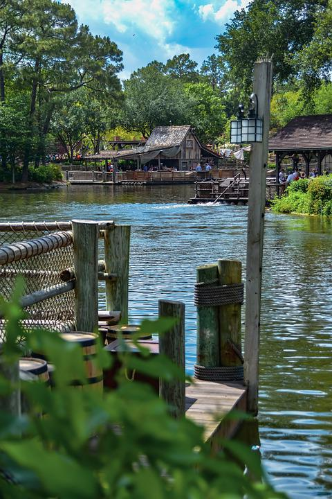 Dock, Lake, River Boat, Pier, Outdoors, Scenic, Tourism