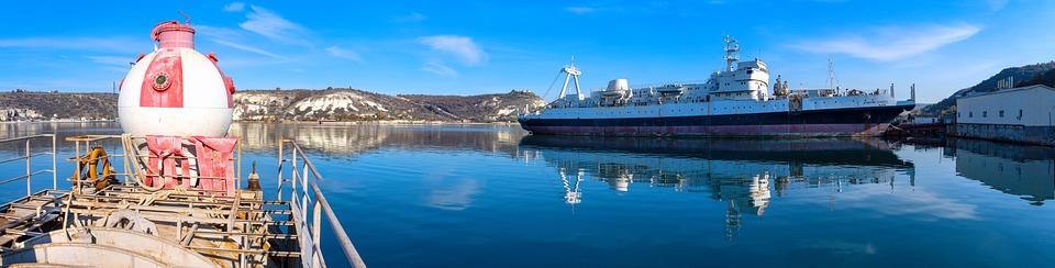 Crimean Peninsula, Inkerman, Ship, Black Sea, Pier