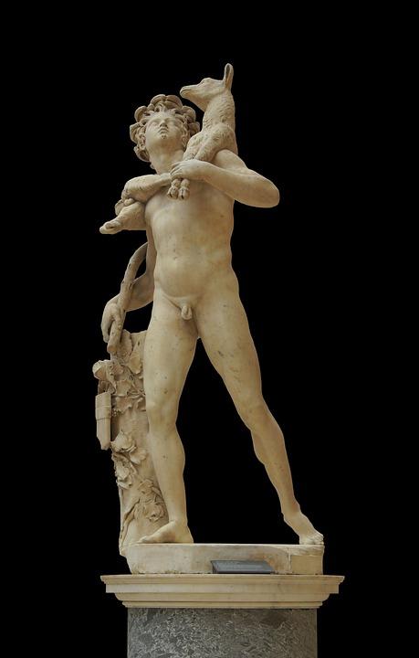 Statue, Marble, Sculpture, Pierre Engraver, 1685