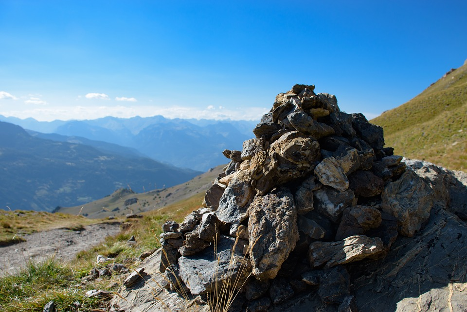 Cairn, Pierre, Mountain, Mound Of Stone, Pile Of Stones