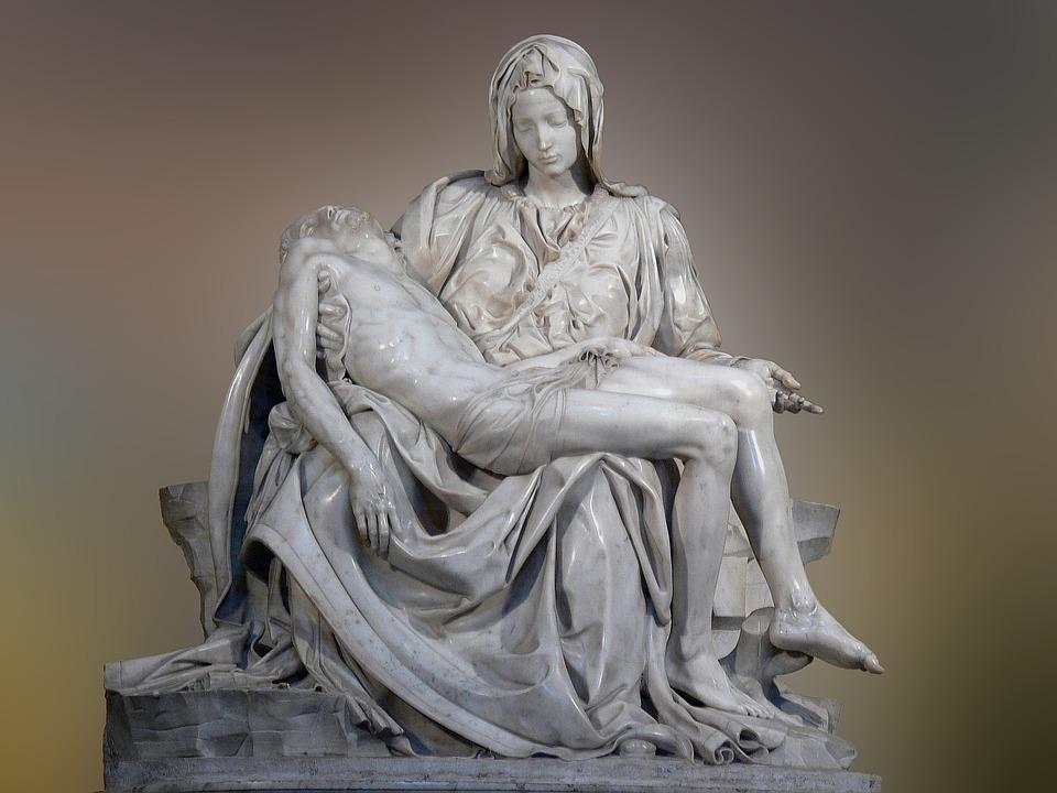 Italy, Rome, St Peter's Basilica, Michelangelo, Pieta