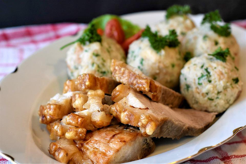 Roast Pork, Crust Roast, Dumpling, Pig, Bread Dumplings