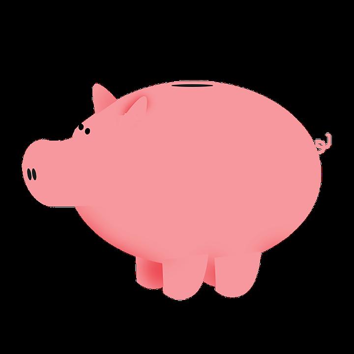 Piggybank, Pig, Bank, Piggy-bank, Piggy, Pink, Saving