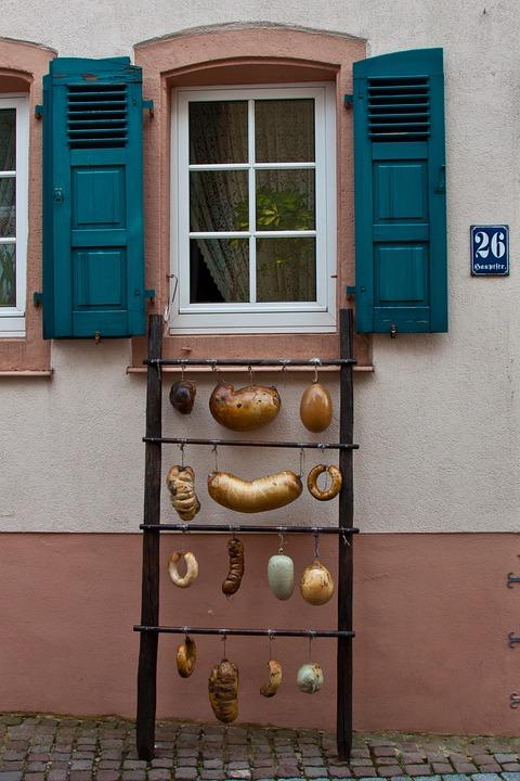 Pig's Stomach, Butcher, Sausage, Palatinate