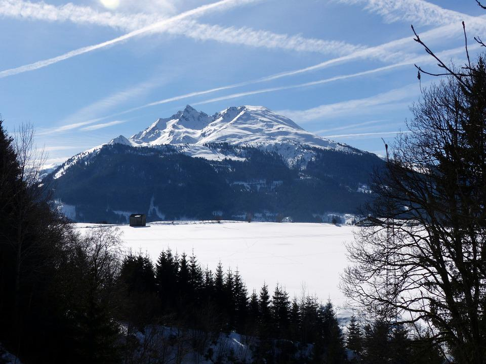 Wintry, High Tauern, Mountains, Pihapper, Landscape