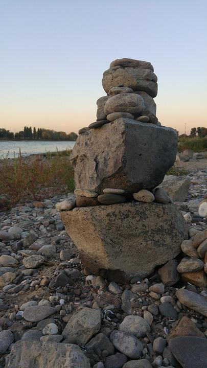 Stone, Pile, Nature, Harmony, Pebble, Balance