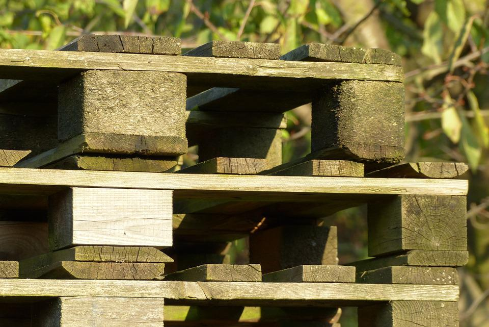 Pallets, Wood, Pile, Wooden