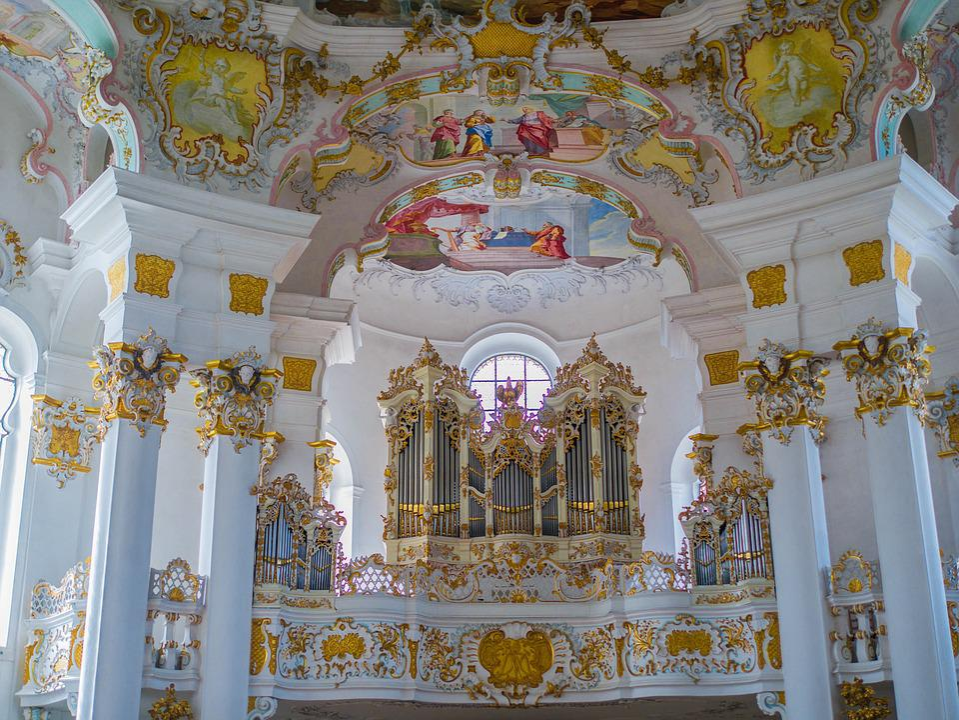 Church, Pilgrimage Church Of Wies, Organ