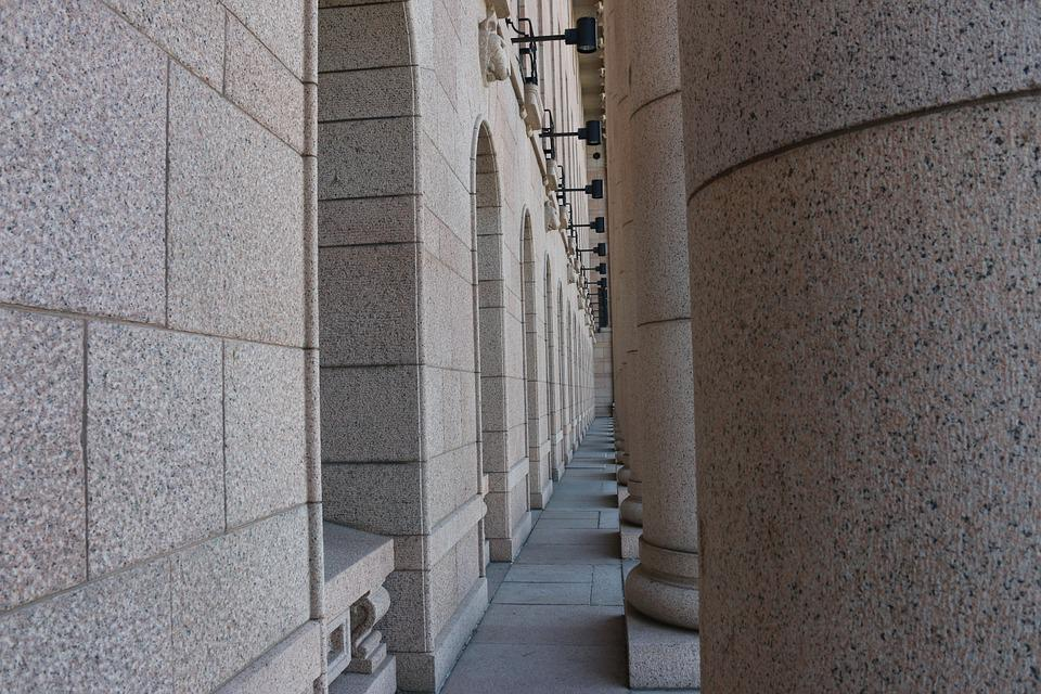 Pillars, Stone, Architectural