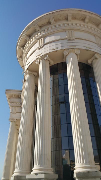 Pillars, Building, New Old