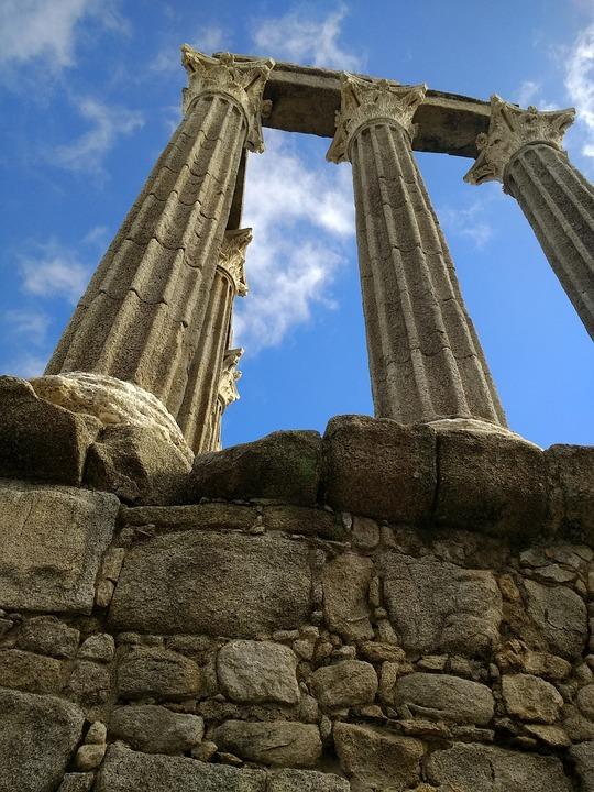 Cornerstone, Pillars, Greek, The Roman, Old