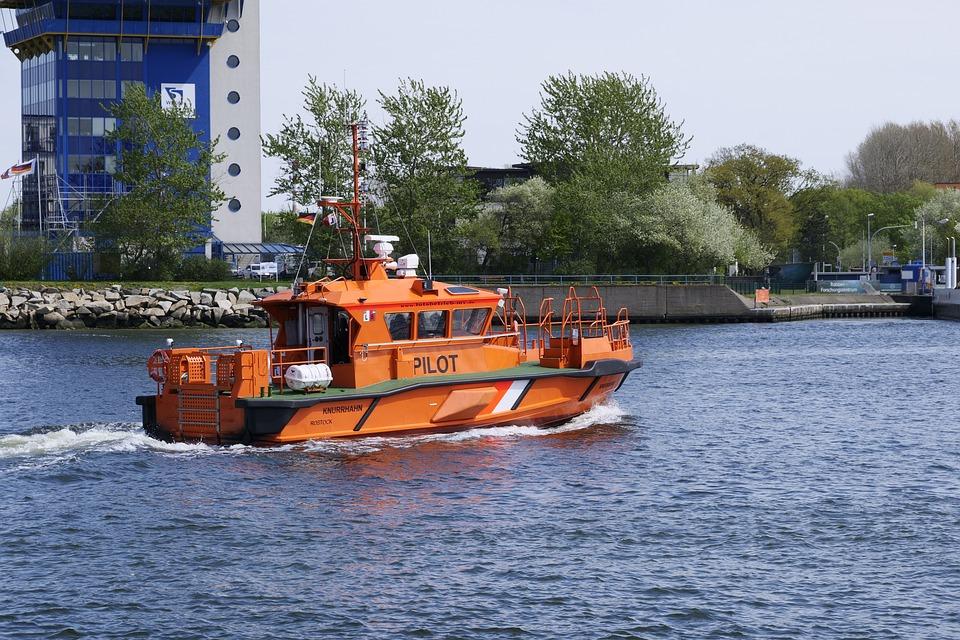 Pilot Boat, Transport System, Vehicle, Shipping, Pilot