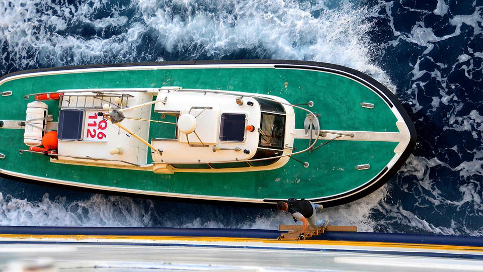 Pilot, Ferry, Water, Boat, Lake, Sea, Shipping
