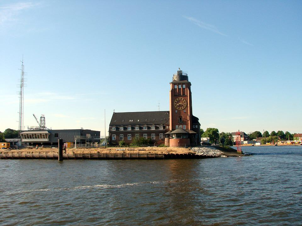 Hamburg, Port, Pilot Station, Elbe