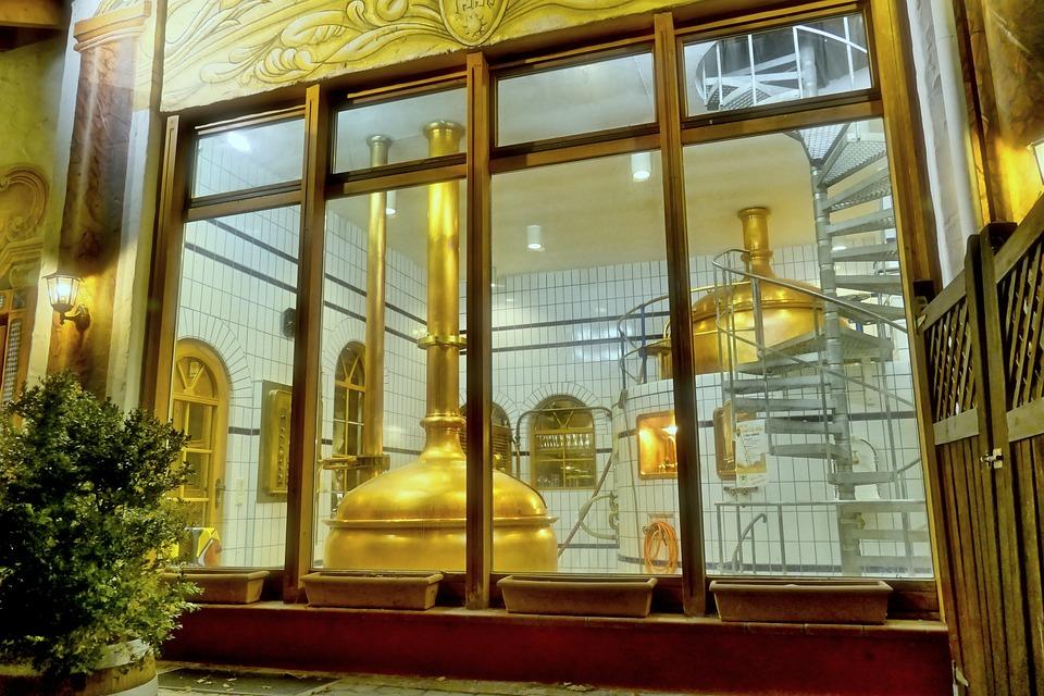 Brewery, Old, Copper Boiler, Beer, Germany, Pils