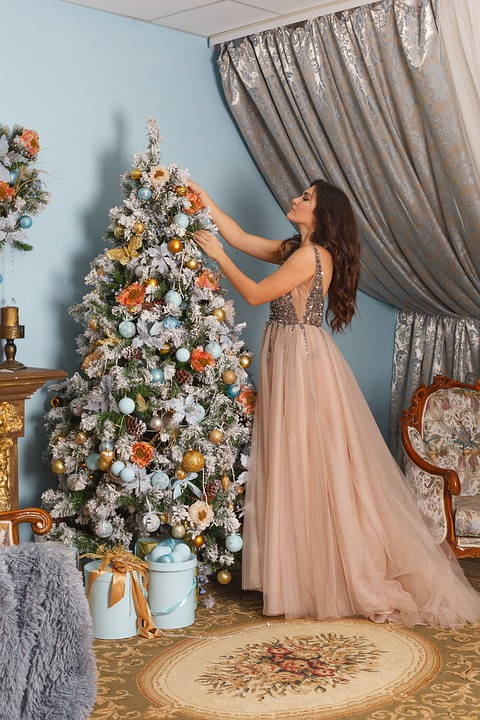 Christmas, Xmas, Decoration, Tree, Pine, Dress, Home