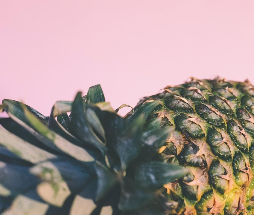 Food, Fruit, Healthy Food, Pineapple, Pink