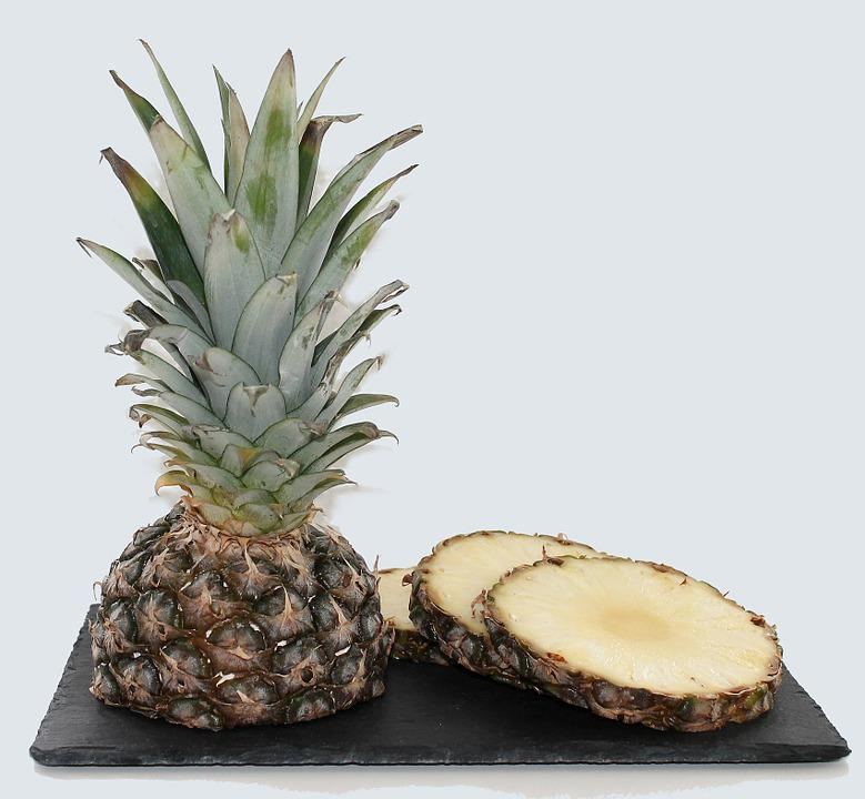 Pineapple, Fruit, Fruits, Food, Fruit Bowl, Fitnes