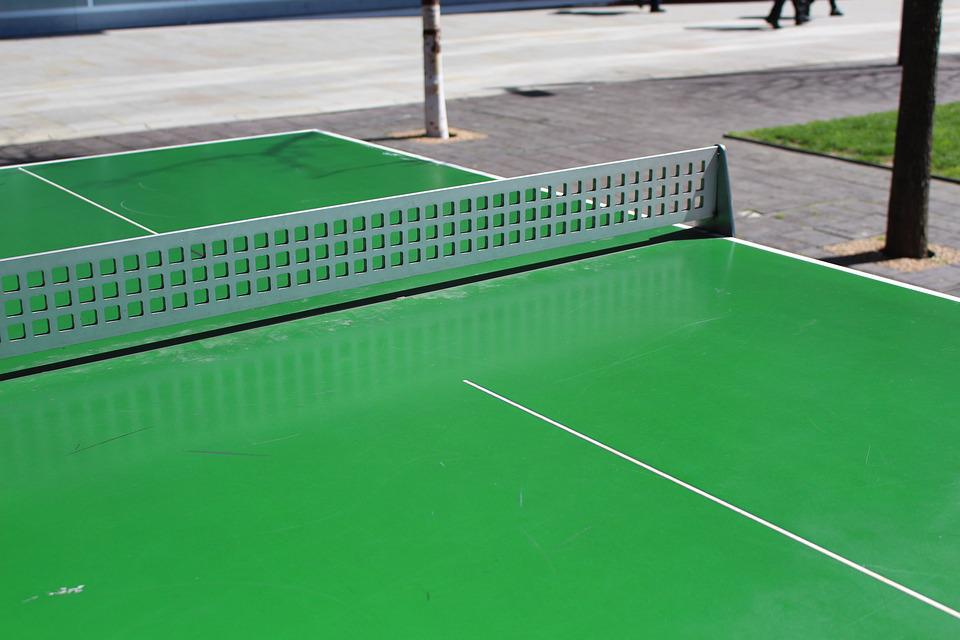 Table, Tennis, Ball, Game, Ping, Pong, Action, Leisure