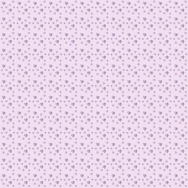 Pattern, Heart, Pink, Heart Pattern, Background, Love