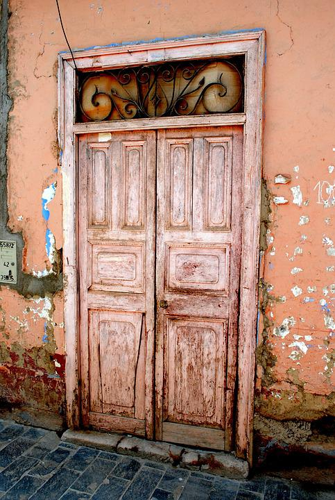 Pink Door, Door, Old