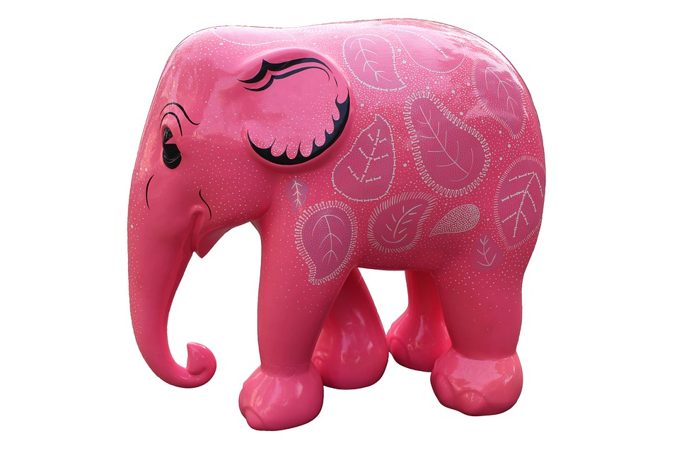 Free Photo Pink Elephant Symbol Pink Cartoon Animal Elephant Max Pixel