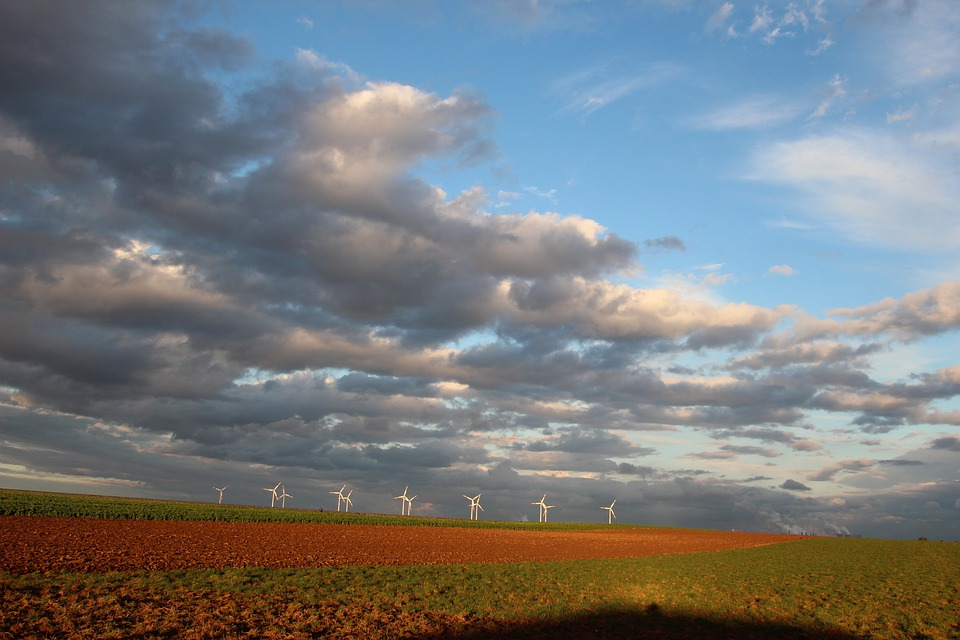 Wind Power, Wind Brides, Sky, Energy, Pinwheel, Dynamic