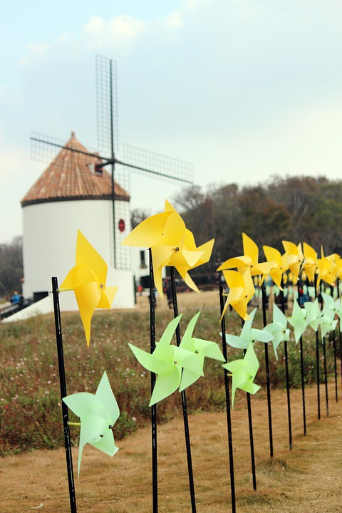 Pinwheel, Wind, Windmill